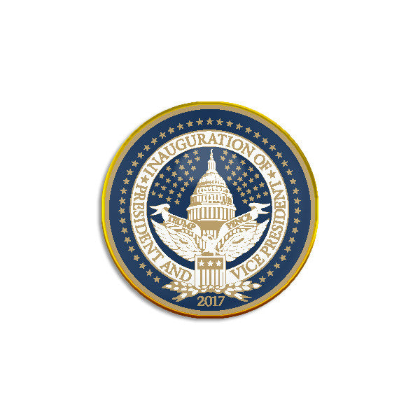Official Inauguration Seal Lapel Pin - Set of 2