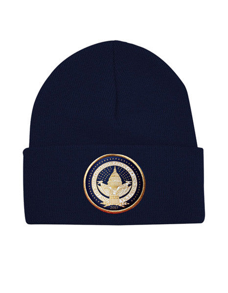 Official Inauguration Seal Beanie - Navy