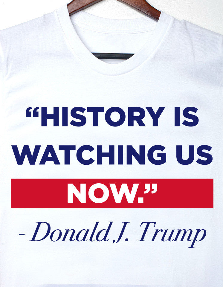 History Is Watching Men's Tee - Small