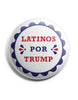 Official Latinos Por Trump Buttons