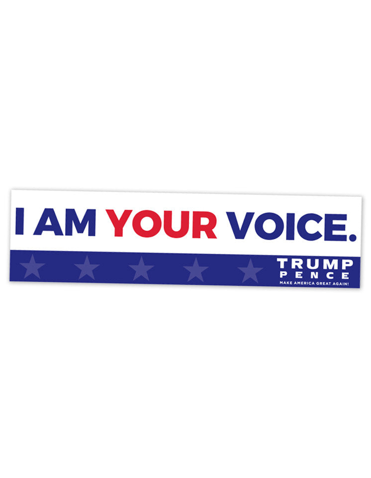 Your Voice Bumper Stickers - Set of 2