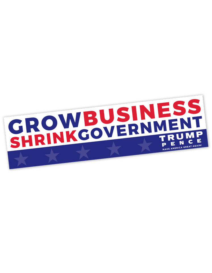 Grow Business Bumper Stickers - Set of 2