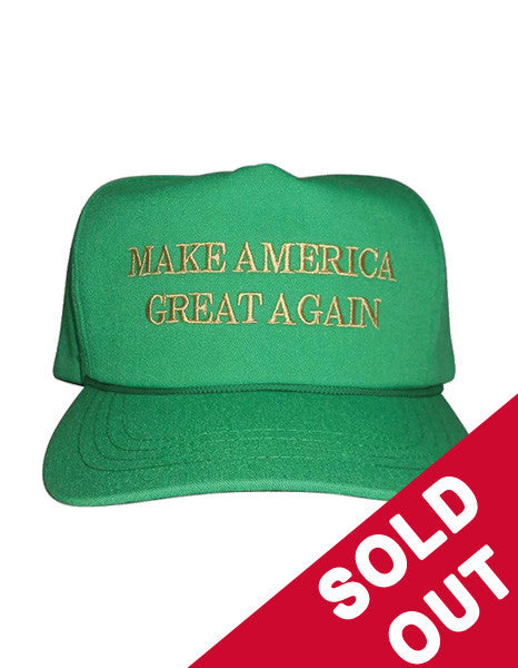 Official Make America Great Again Green Hat