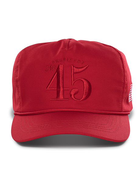 Official 45th President Hat - Red