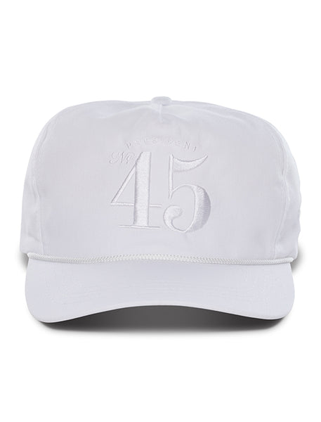 Official 45th President Hat - White