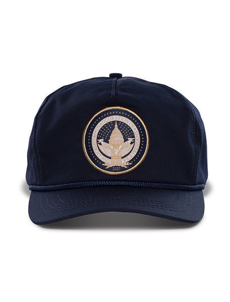 Official Inauguration Gold Seal Hat - Navy