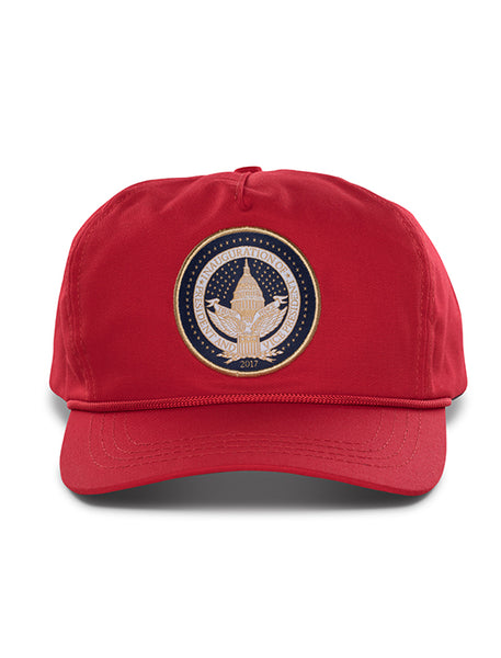 Official Inauguration Gold Seal Hat - Red