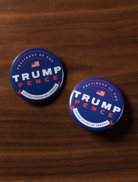 Official Trump-Pence Presidential Buttons