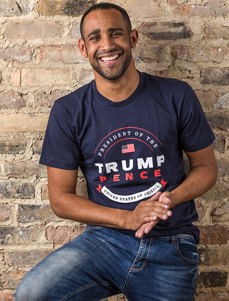 Official Trump-Pence Presidential Tee - Navy