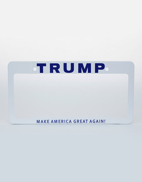 Trump Make America Great Again! License Plate Frames (Set of 2)
