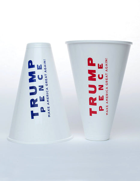 Official Trump-Pence Mini Megaphones – Set of 2