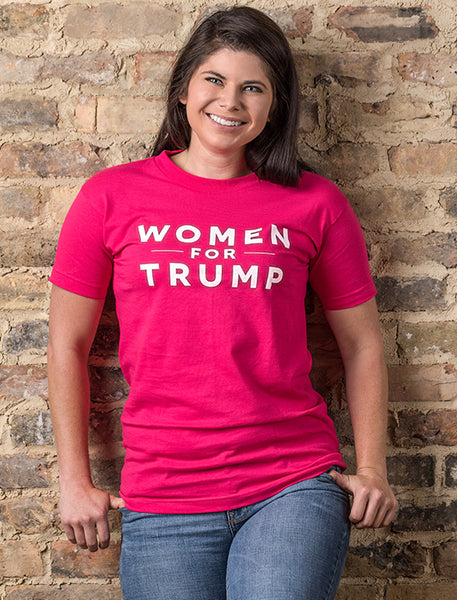Women for Trump Tee - Pink