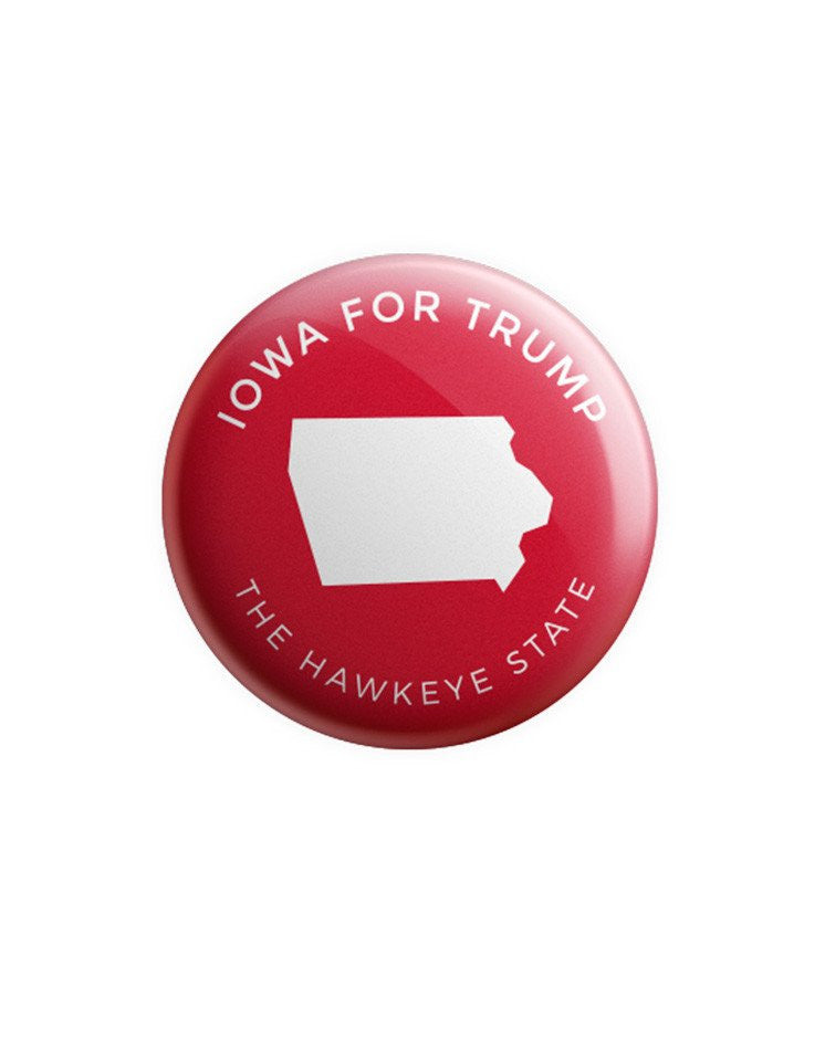 Iowa for Trump Buttons Bundle