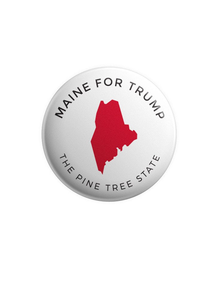 Maine Shirt & Buttons Bundle