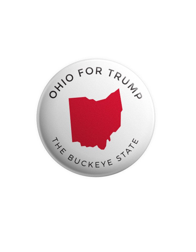 Ohio for Trump Buttons Bundle
