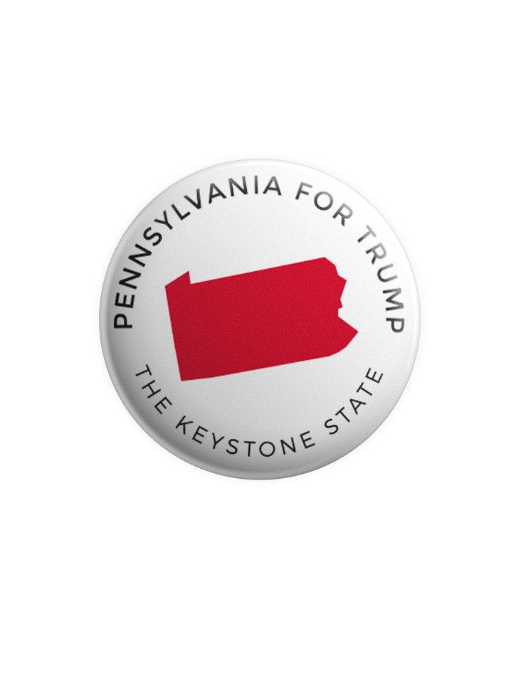 Pennsylvania for Trump Buttons Bundle