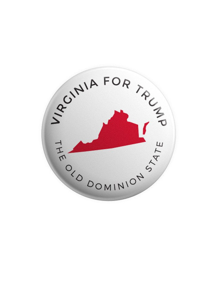 Virginia for Trump Buttons Bundle