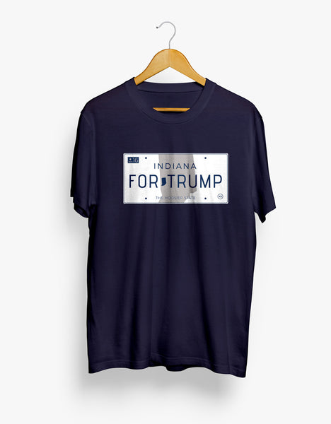 Indiana for Trump Tee - X-Large