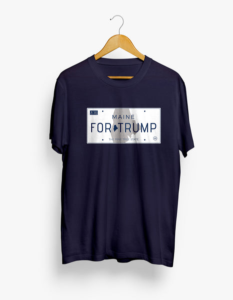 Maine for Trump Tee - Large