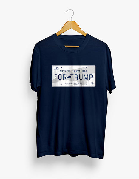 North Carolina for Trump Tee - X-Large