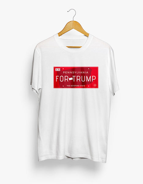 Pennsylvania for Trump Tee - X-Large