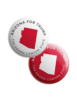Arizona for Trump Buttons Bundle