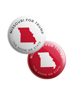 Missouri for Trump Buttons Bundle