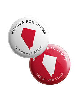 Nevada for Trump Buttons Bundle