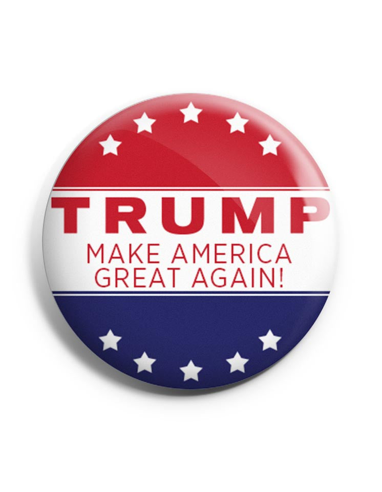 Trump Make America Great Again Campaign Buttons – Set of 2