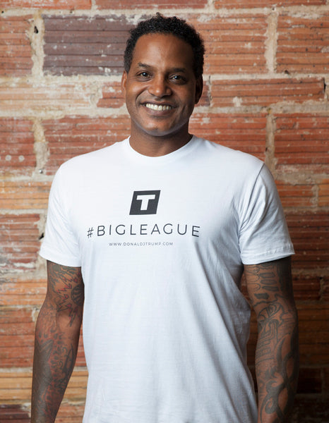 #BigLeague Men's Tee - Small