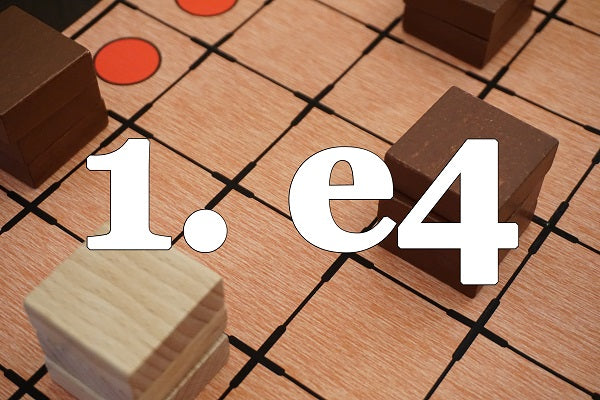 1. e4 (by Tom Russell)