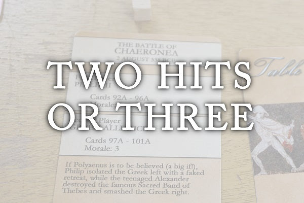TWO HITS OR THREE (by Tom Russell)