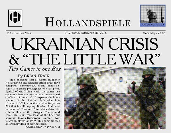COVER STORY: UKRAINIAN CRISIS & THE LITTLE WAR (by Tom Russell)
