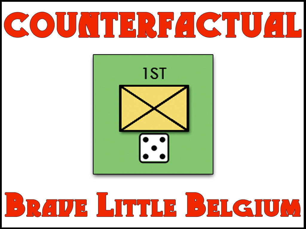 COUNTERFACTUAL: BRAVE LITTLE BELGIUM (by Tom Russell)