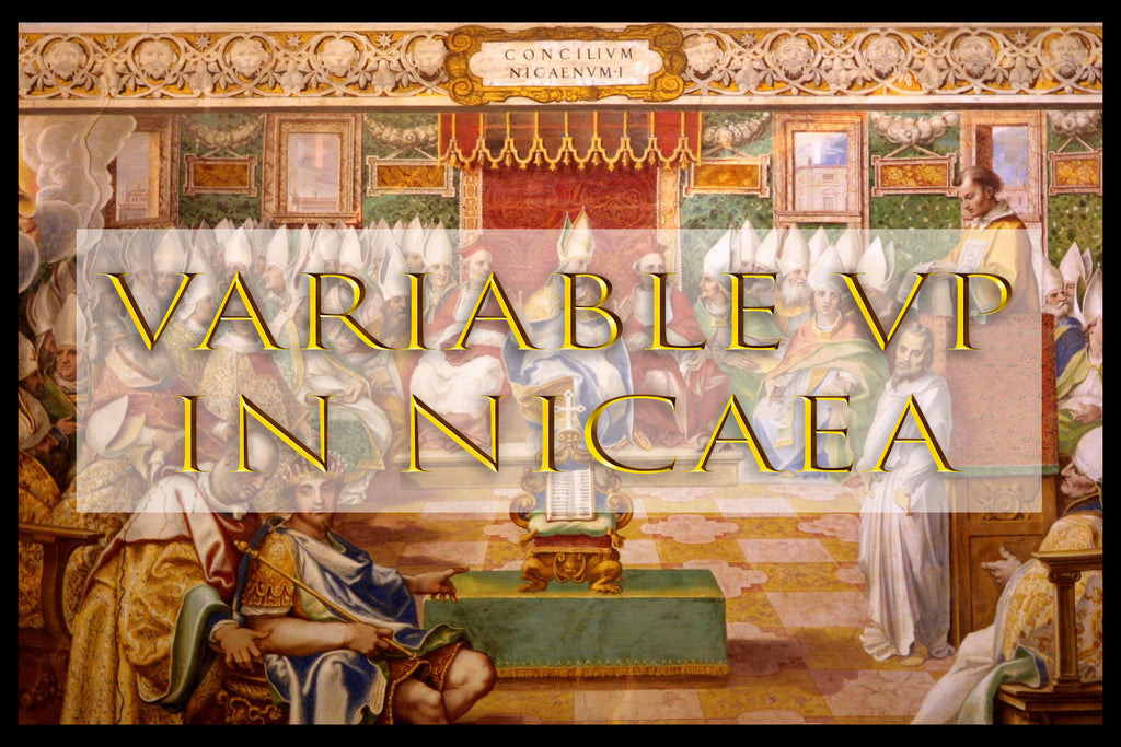 VARIABLE VP IN NICAEA (by Tom Russell)
