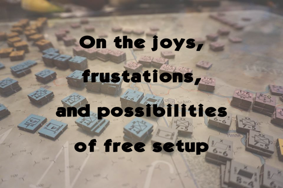 FROM THE ARCHIVES: ON THE JOYS, FRUSTRATIONS, AND POSSIBILITIES OF FREE SET-UP (by Tom Russell)