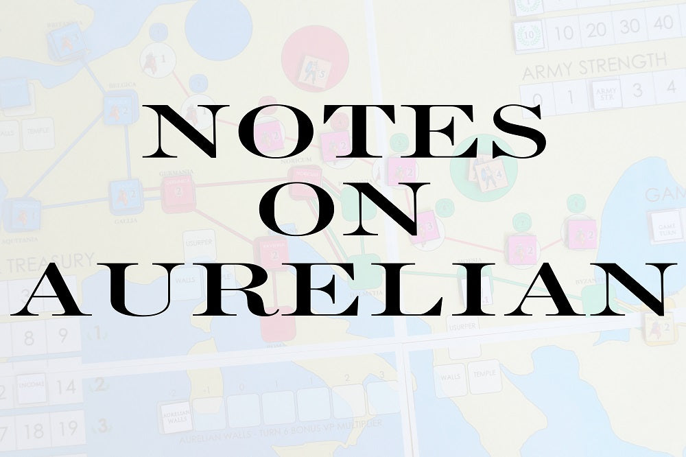 FROM THE ARCHIVES: NOTES ON AURELIAN (by Tom Russell)