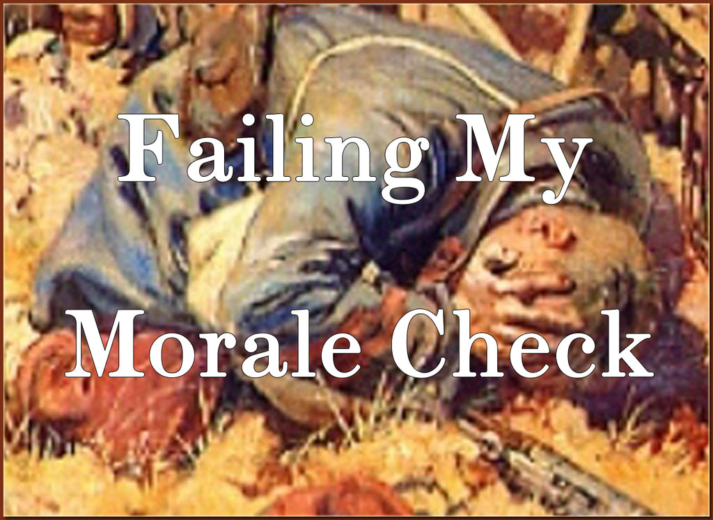 FAILING MY MORALE CHECK (by Tom Russell)