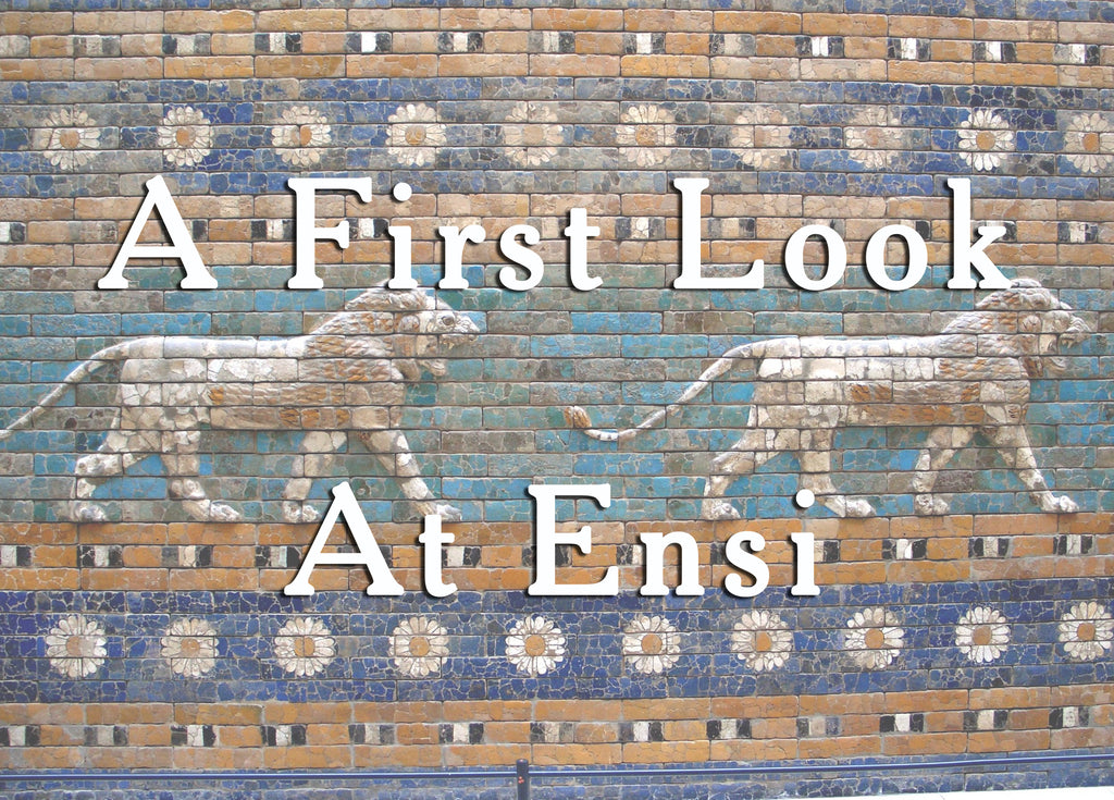 A FIRST LOOK AT ENSI (by Tom Russell)