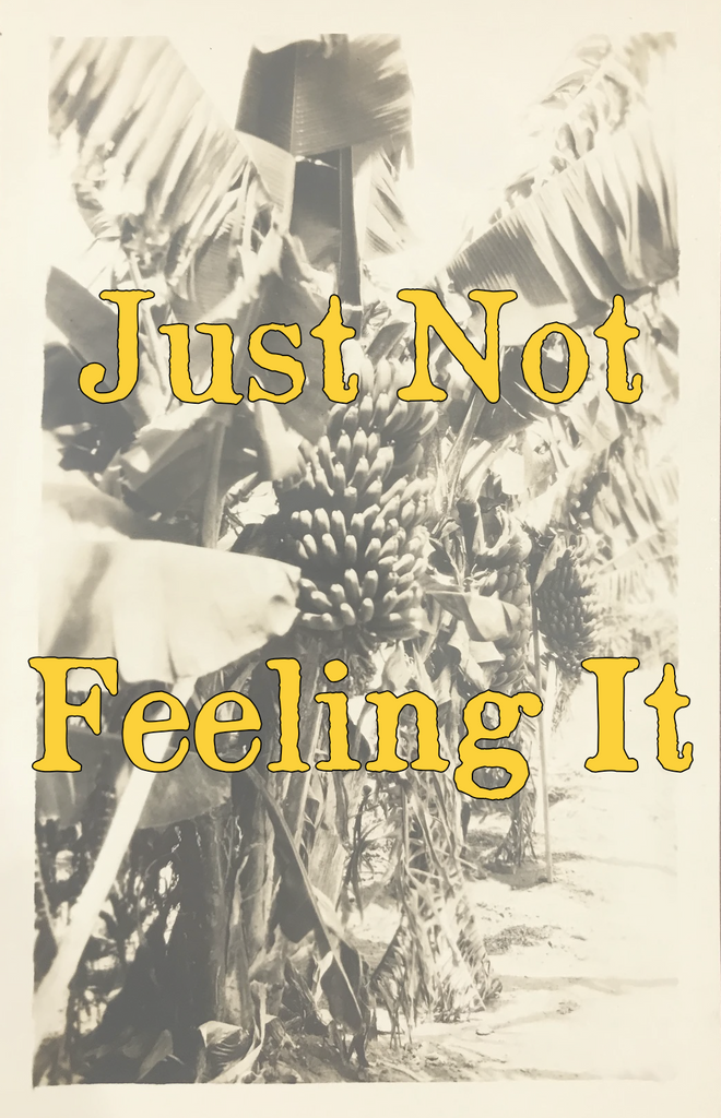 JUST NOT FEELING IT (by Tom Russell)