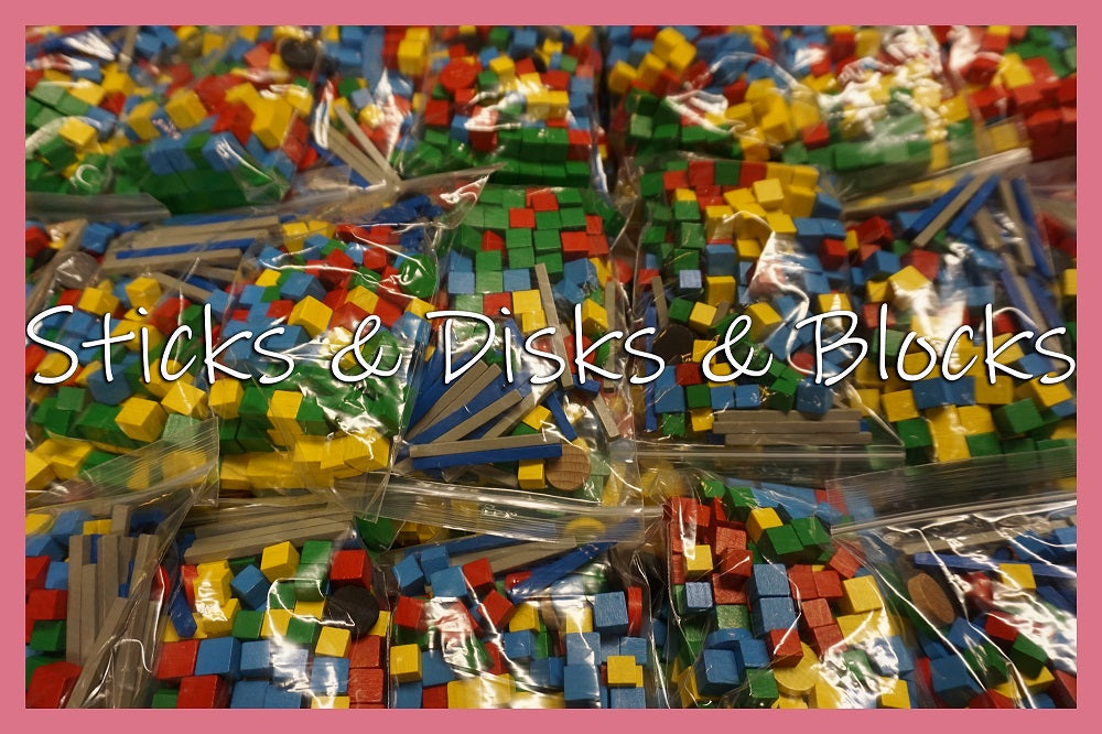 STICKS & DISCS & BLOCKS (by Tom Russell)