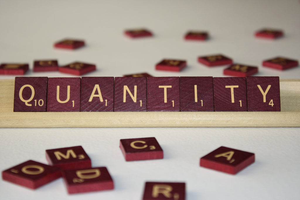 FROM THE ARCHIVES: QUANTITY (by Tom Russell)