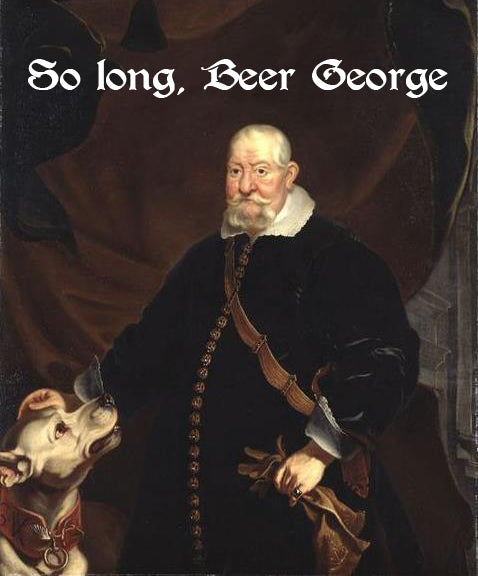 SO LONG, BEER GEORGE (by Tom Russell)