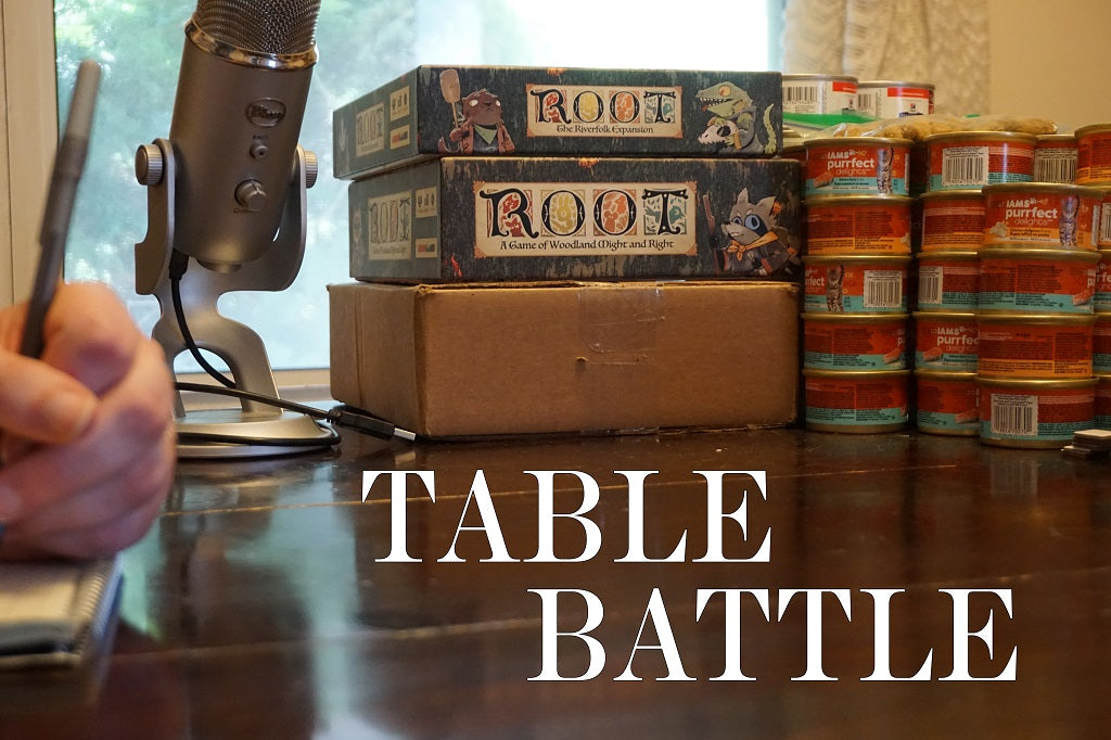 FROM THE ARCHIVES: TABLE BATTLE (by Tom Russell)