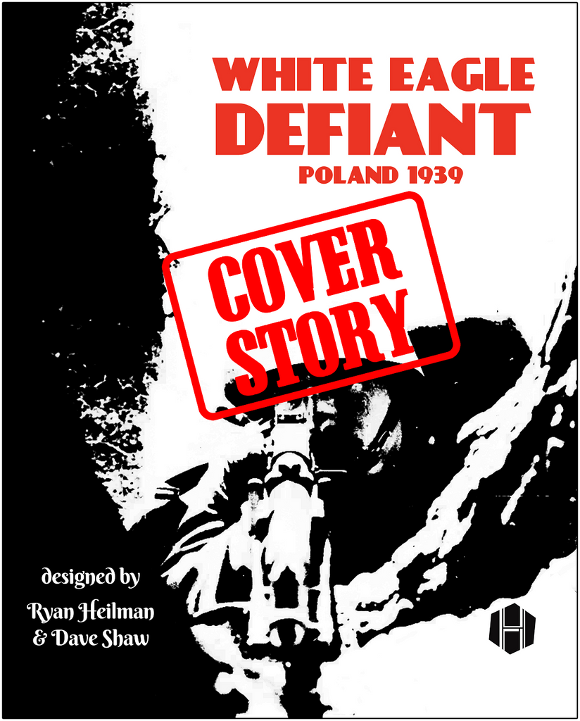 COVER STORY: WHITE EAGLE DEFIANT (by Tom Russell)