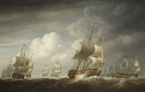 Fleet of East Indiamen