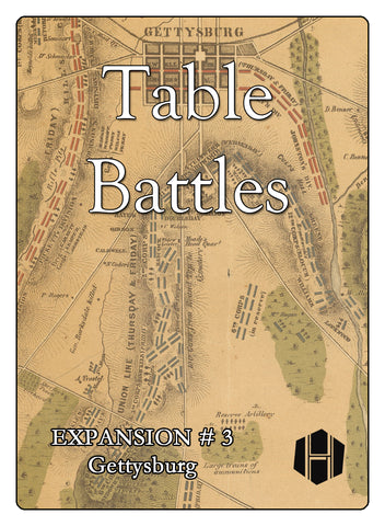 Table Battles Expansion No. 3: Gettysburg