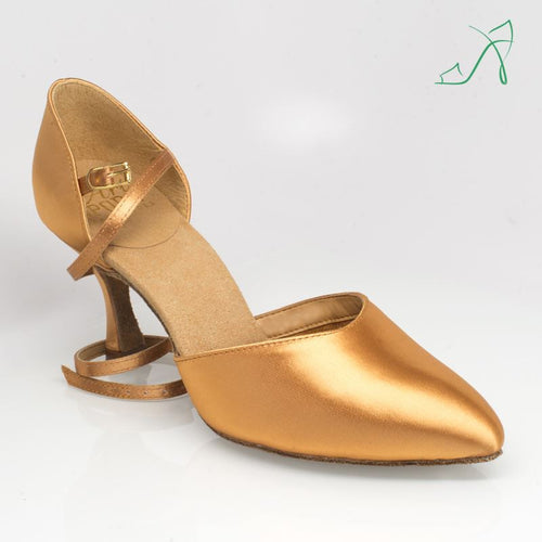 Ray Rose 103 Sirocco | Flesh Satin | Smooth Dance Shoe