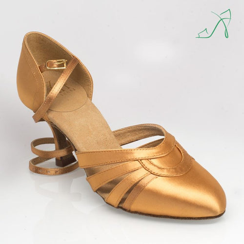 Ray Rose 104 Nevada | Flesh Satin | Smooth Dance Shoe