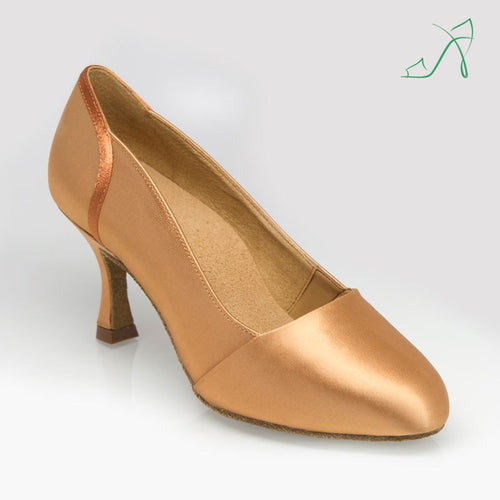 Ray Rose 105A Tanami | Flesh Satin | Ballroom Dance Shoe